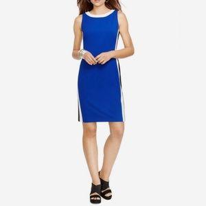NWOT Ralph Lauren Color Block Sheath Dress